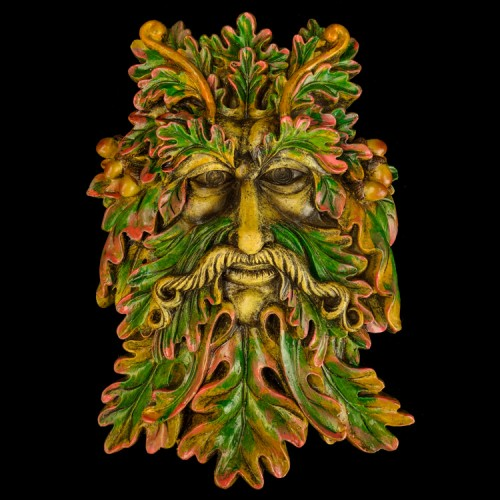 Muurhanger Green Man Eik