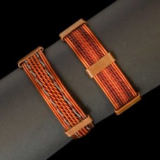 Koperen Armband Gerecycled Koperdraad