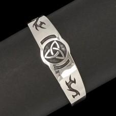 Zilveren Armband Triquetra