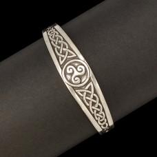 Tinnen Armband Triskel