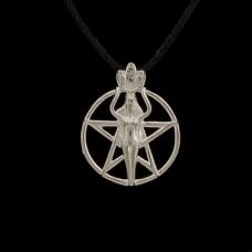 Hanger Pentagram met Godin