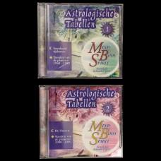 Astrologische Tabellen op CD-ROM
