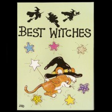 Best Witches Postkaart