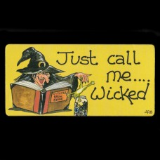 Just Call Me... Wicked Koelkastmagneet
