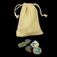 Mini-Runenset Kiezels (verschillende kleuren beschikbaar)