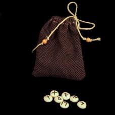 Mini Runenset Witte Klei (meerdere kleuren symbolen beschikbaar)