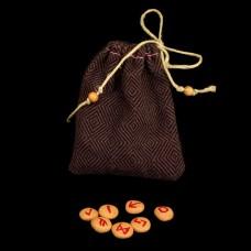 Mini Runenset Rode Klei (meerdere kleuren symbolen beschikbaar)