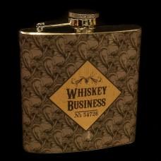 Heupflacon Whiskey Buisiness