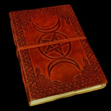 Leren Book Of Shadows Drievoudige Godin