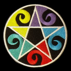 Patch Pentagram Elementen