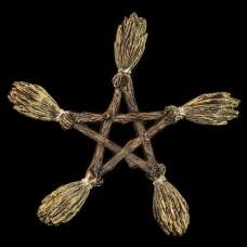 Muurhanger Pentagram van Bezems