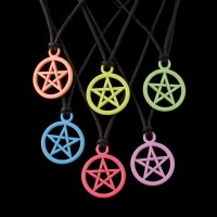 Hanger Pentagram Gekleurd