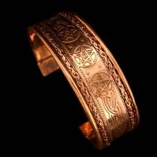 Koperen Armband Pentagram