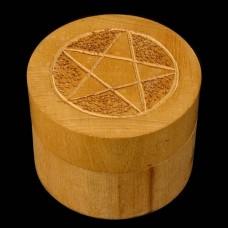 Doosje Pentagram Rond