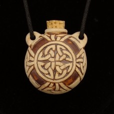 Hanger Keltische Knoop Flesje