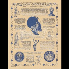 Moon Goddesses Mini-Poster