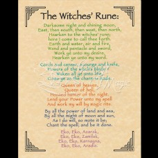 Witches Rune Mini-Poster