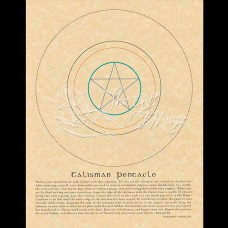 Talisman Pentacle Mini-Poster