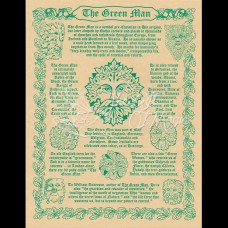 Green Man Mini-Poster