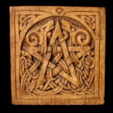 Plaque Pentagram Klein