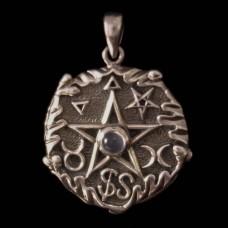 Hanger Eiken Pentagram Zilver