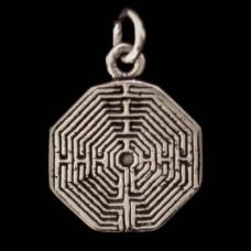 Hanger Labyrint Zilver