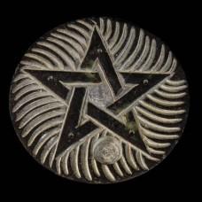 Wierookschaaltje Pentagram Zeepsteen
