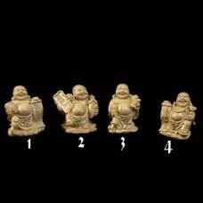 Beeldjes Budai / Laughing Buddha Beige