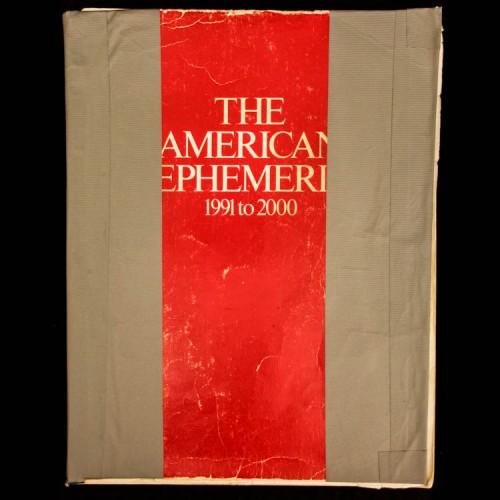 The American Ephemeris 1991 to 2000