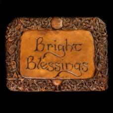 Plaque Bright Blessings Bruin