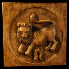 Plaque Leeuw