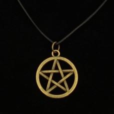 Hanger Pentagram Bronskleurig