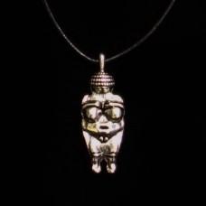 Hanger Venus van Willendorf Zilverkleurig