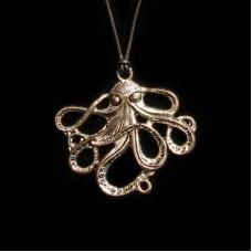 Hanger Octopus Zilverkleurig